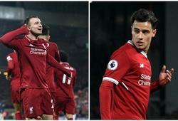 Bằng chứng cho thấy Shaqiri có tác động lớn hơn Coutinho ở Liverpool