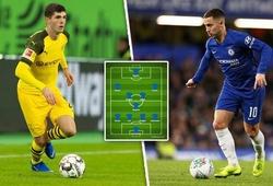 Chelsea sẽ xếp đội hình mùa tới thế nào với Pulisic và dấu hỏi về Hazard?