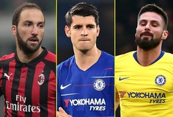 Phong độ của Higuain thế nào khi so với Morata và Giroud?