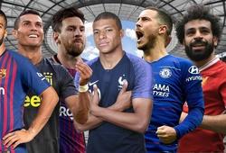 Ronaldo, Messi, Salah và loạt ngôi sao đã bỏ lỡ bao nhiêu trận trong sự nghiệp vì chấn thương?