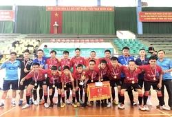 Chung kết nghẹt thở tại giải Futsal trẻ Đắk Lắk năm 2019