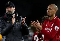 Sốc với thống kê Liverpool giành điểm khó tin với Fabinho đá chính
