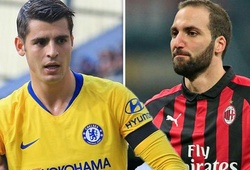 """Chelsea có lo ngại thống kê sốc chỉ ra Higuain còn """"gỗ"""" hơn cả Morata?"""