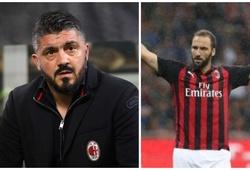 Tin bóng đá ngày 20/1: HLV Gattuso ngầm xác nhận Higuain tới Chelsea