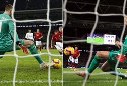 Choáng với cách De Gea làm với đôi giày sử dụng khi lập kỷ lục cản phá trước Tottenham