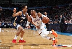 Thêm triple-double, Russell Westbrook hủy diệt không thương tiếc Pelicans tàn tật