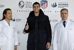 Tin bóng đá ngày 27/1: Morata vượt qua kiểm tra y tế gia nhập Atletico