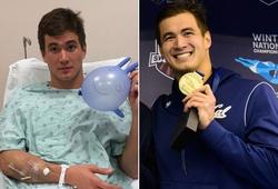 """Kình ngư """"soái ca"""" HCV Olympic Nathan Adrian phải điều trị ung thư tinh hoàn"""