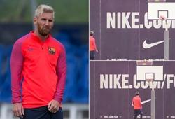 Pogba, Messi và các ngôi sao bóng đá phô diễn kỹ năng bóng rổ