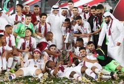 Chùm ảnh: Qatar ăn mừng sau ngôi vương lịch sử
