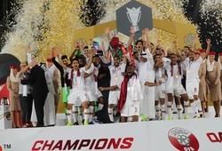 Qatar nâng cao cúp vô địch Asian Cup 2019 sau trận thắng Nhật Bản