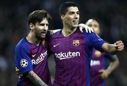 Suarez hé lộ sự hoán đổi kinh ngạc với Messi để làm nên song sát đáng sợ cho Barca