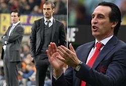 Arsenal có lo khi biết thành tích đối đầu tệ hại của Unai Emery với Pep Guardiola?