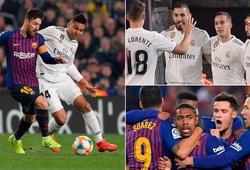 Thống kê chỉ ra lợi thế lớn của Real Madrid ở Cúp Nhà vua sau khi thủ hòa 1-1 với Barca