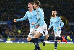 Video Everton 0-2 Man City (Vòng 27 Ngoại hạng Anh)