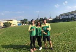 Lo tăng cân vì bánh chưng, cô trò Tú Chinh ra sân tập từ mùng 2 Tết hướng tới SEA Games 2019