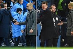 Sarri lý giải nguyên nhân không bắt tay Pep Guardiola sau trận thua thảm