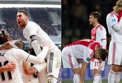 Từ sau lễ bốc thăm vòng 1/8 Cúp C1/Champions League cặp đấu Ajax - Real Madrid thay đổi 180 độ như thế nào?