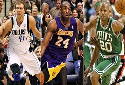 Đâu là cuộc thi 3 điểm tệ hại nhất trong lịch sử NBA All-Star ?