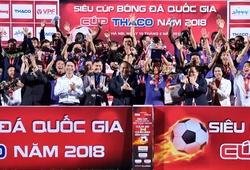 Nhìn lại khoảnh khắc CLB Hà Nội đánh bại Bình Dương tại trận Siêu Cúp Quốc gia 2018