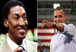 Scottie Pippen đồng ý với cựu tổng thống Barack Obama về vấn đề vĩ đại nhất