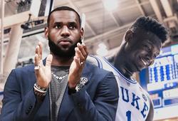 Zion Williamson sẽ là mục tiêu tranh giành của LeBron James và rapper vạn người mê
