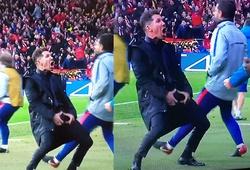 HLV Diego Simeone nói gì về màn ăn mừng khiếm nhã trong trận Atletico Madrid 2-0 Juventus?