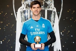 """Courtois nhận giải """"Thủ môn xuất sắc nhất năm 2018"""" của IFFHS, De Gea nằm ngoài Top 5"""