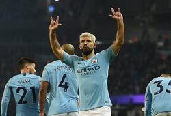 Aguero ghi bàn trên chấm 11m và 5 điểm nhấn ở trận Man City gặp West Ham
