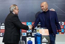 """Zidane trở lại giúp Real Madrid có thành tích """"hy hữu"""" từ mùa 2004/05?"""