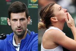 """Địa chấn ở Indian Wells: 3 """"trùm cuối"""" Djokovic, Osaka, Halep rụng lả tả"""