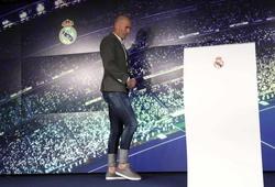 """Hình ảnh buổi tập đầu tiên của Zidane với Real Madrid trong """"nhiệm kỳ 2"""""""