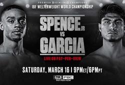 TRỰC TIẾP Quyền Anh: Mikey Garcia vs Errol Spence