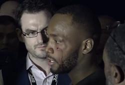 Gạ kèo, Leon Edwards bị Jorge Masvidal đấm rách mặt sau buổi họp báo UFC