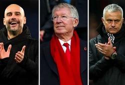 Sir Alex Ferguson và Mourinho, Guardiola xếp ở vị trí nào trong Top 50 HLV xuất sắc nhất mọi thời đại?