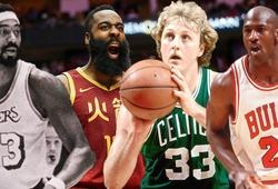 """Ngoài James Harden, đã từng có """"thánh"""" nào ghi được 30 điểm trước tất cả đội bóng còn lại ở NBA trong một mùa?"""