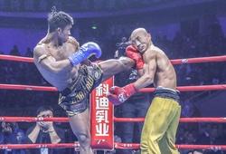 """Những trận đấu kịch tính của """"Đệ nhất Thiếu Lâm"""" Yi Long trước các cao thủ Kickboxing"""