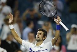 """Novak Djokovic """"chết hụt"""" ở vòng 3 Miami Open"""