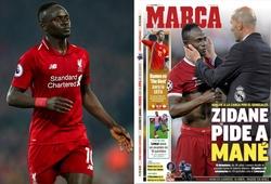 Tin chuyển nhượng tối 25/3: Báo Tây Ban Nha nói Real Madrid quay lại theo đuổi Mane