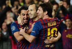 Video tiết lộ sự liên kết đáng kinh ngạc của bộ ba Messi - Xavi - Iniesta