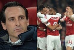 Thống kê chỉ ra Arsenal tiến bộ khó tin thế nào dưới thời HLV Emery