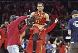 Cả NBA sửng sốt với cú buzzer-beater thần thánh của Trae Young trong hiệp phụ