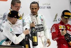 Lewis Hamilton thắng chặng đua Bahrain Grand Prix