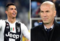 Ronaldo nói gì về việc HLV Zidane trở lại cứu rỗi Real Madrid?