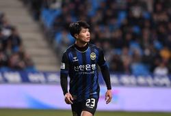 Những thống kê ấn tượng của Công Phượng trong lần đầu đá chính cho Incheon United
