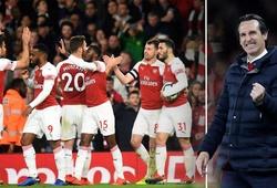 Thống kê kinh hoàng chỉ ra Arsenal của Emery vô đối giải Ngoại hạng vể sự hiệu quả