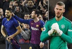 De Gea đã từng bị tam tấu M-S-C của Barca tra tấn như thế nào trong quá khứ?