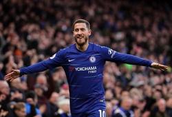 Hazard vượt Aguero và Salah để trở thành vua bàn thắng kết hợp ở Ngoại hạng Anh
