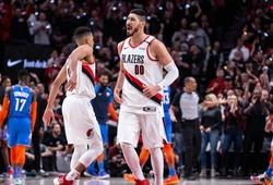 """Người cũ của Thunder """"vào zone"""", Blazers chấm dứt lời nguyền Playoffs sau 2 năm"""