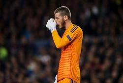 Chỉ số khủng khiếp của De Gea khiến MU đánh mất cơ hội trước Barca ở tứ kết Cúp C1
